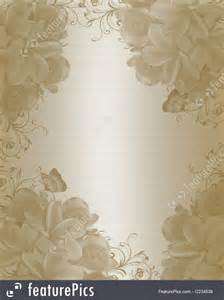 wedding floral background elegant