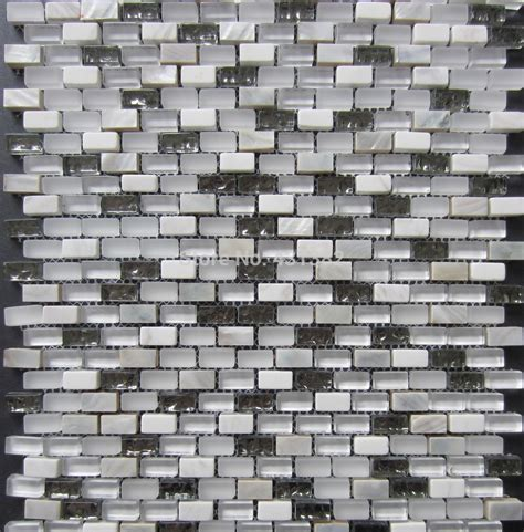 glass mosaic tiles mosaic mixed shell mosaic tile on