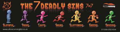 the sins of the the 7 deadly sins 7in7 2019 ultra runningultra running