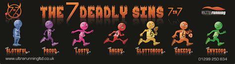 the seven deadly sins 24 seven deadly sins the the 7 deadly sins 7in7 2018 ultra running