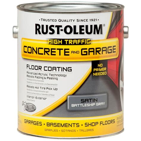 rust oleum epoxyshield 1 gal battleship gray concrete floor paint of 2 260725 the home