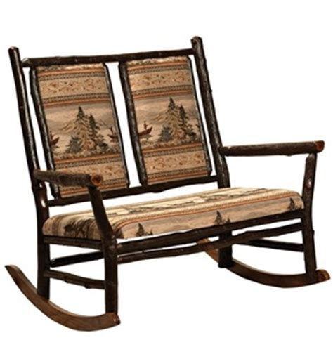 Amish Rocking Chair Cushions by Amish Rocking Chairs With Pads