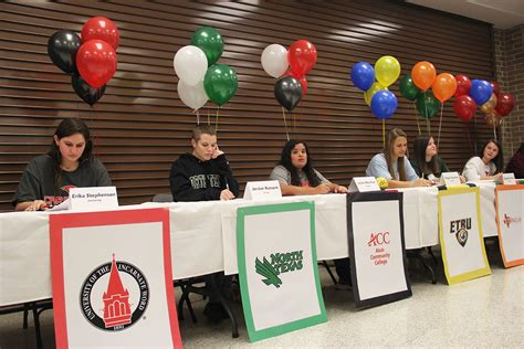 Letter Of Intent Signing Day Signing Day At Stratford High School The Buzz Magazines