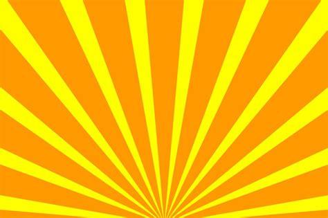 Rainbow Yellow Kuning free illustration rays sun light free