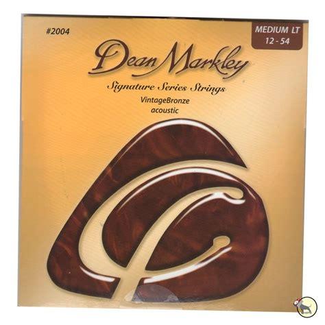 medium light guitar strings dean markley 2004 medium light acoustic guitar strings 12 54