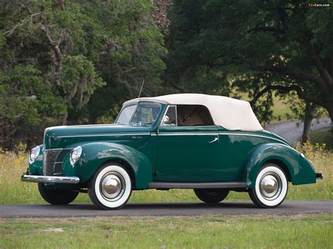 Ford Deluxe by 1940 Ford V8 Deluxe Convertible