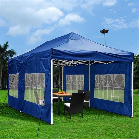 pop up awning tent 10x20ft ez pop up outdoor garden folding marquee awning