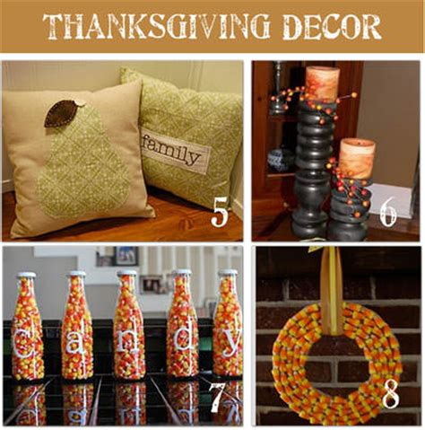 diy thanksgiving decor 16 frugal thanksgiving decorating ideas tip junkie