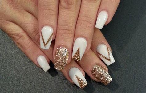imagenes de uñas pintadas acrilicas dise 241 os de u 241 as con escarcha u 241 asdecoradas club