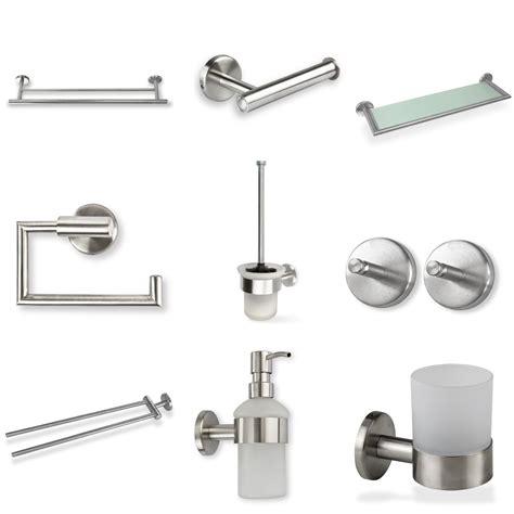 badezimmer zubehör set bad accessoires set edelstahl geb 252 rstet bestseller shop