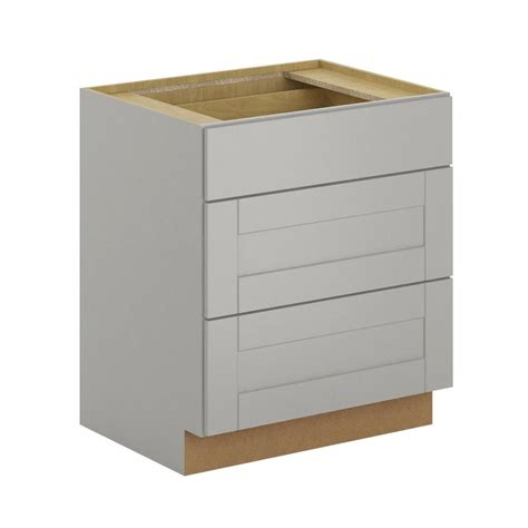 pots and pans drawer cabinet hton bay princeton shaker assembled 30x34 5x24 in pots