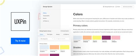 uxpin pattern library great prototyping tools that designers should start using