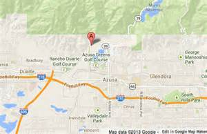 crews stop azusa blaze progress 40 acres burned