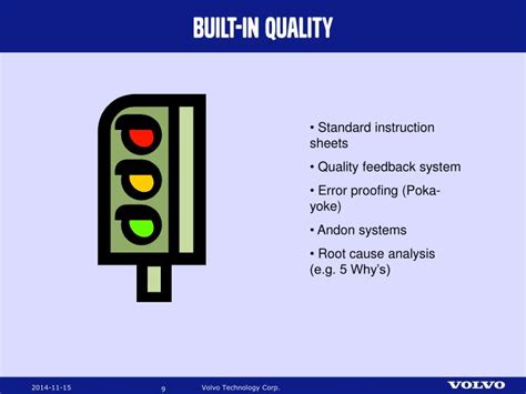 volvo production system vps pre study powerpoint  id