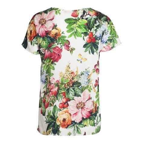 floral pattern t shirt flower print t shirt