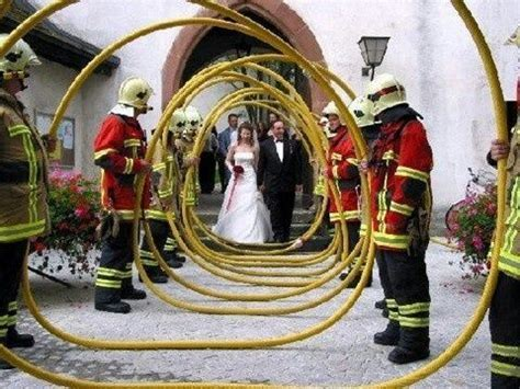 firefighter wedding ideas   Firefighter themed wedding