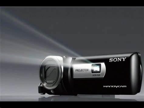 sony handycam with projector dcr pj6 review test