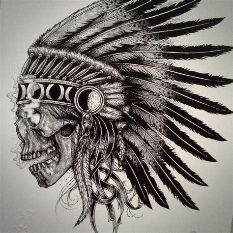 indian chief tattoo designs image of skull chief tattoos tattoos