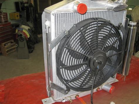 electric fans for rods t bucket electric fan mounting how to in 1927 t rod