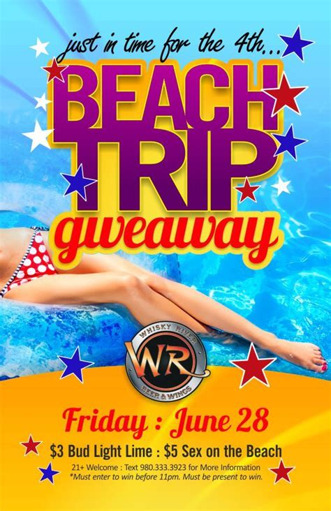 Giveaway Flyer Template
