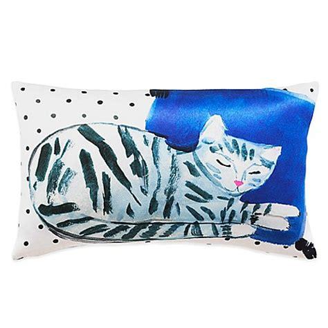 Kate Spade New York Cat Ac1718 kate spade new york cat nap oblong throw pillow in multi bed bath beyond