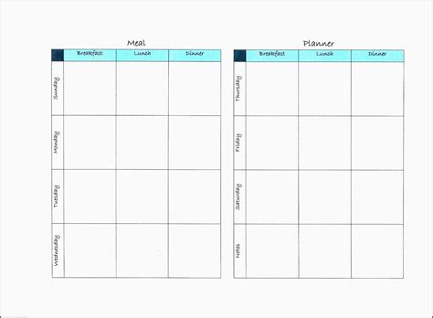 fitness planner template 11 free exercise planner outline sletemplatess