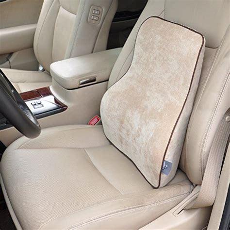 Lumbar Pillow Car by Dreamer Car Premium Memory Foam Car Seat Lumbar Cushion