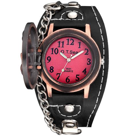 Jam Tangan Pria Tengkorak o t sea jam tangan rocker tengkorak pria 1831 11