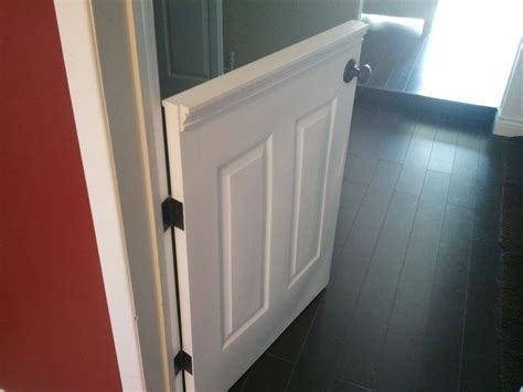 half doors   installed a half door to isolate our dog from