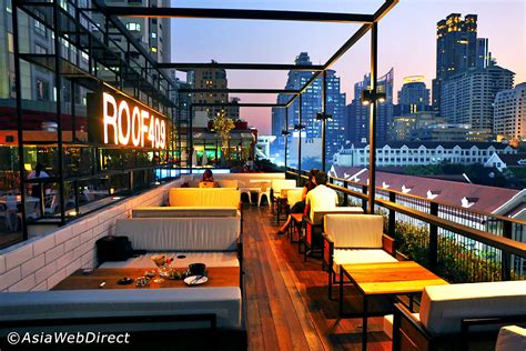 Roof Top Bars In by 11 Alternative Rooftop Bars In Bangkok The City S Best