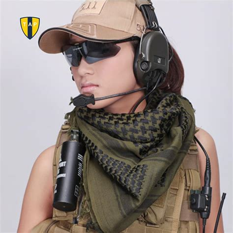 Miera Pashmina Army 1 aliexpress buy army ranger tactical scarf outdoor camouflage cachecol