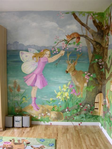 children mural ideas children s bedroom murals wall2
