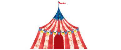 Big Top Canopy by Big Top Circus Tent Pop And Lolli