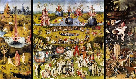 hieronymus bosch on triptych philadelphia and