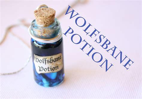 wolfsbane harry potter potion ep 6 bottle charm