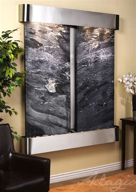 modern wall fountains the cottonwood falls wall water wall fountains