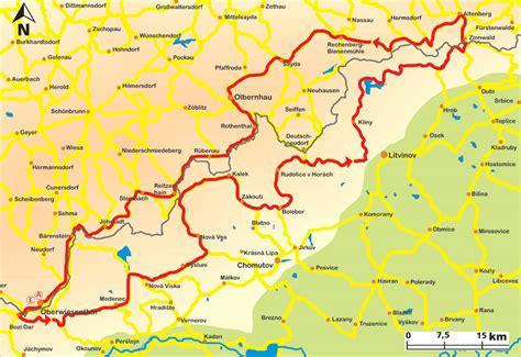 Die Motorrad Generalkarte Deutschland by Motorradtour Erzgebirge Erzgebirgskamm Grenztour