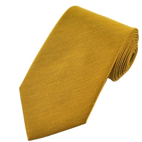 plain gold tie from ties planet uk