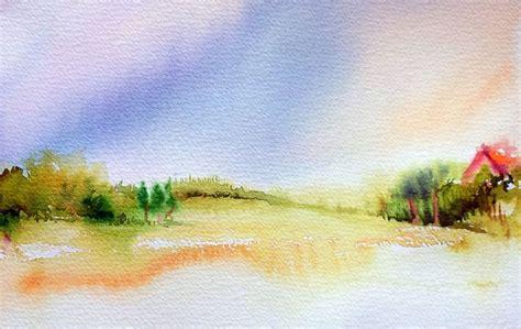 tutorial watercolor landscape watercolor landscapes for beginners easy landscape