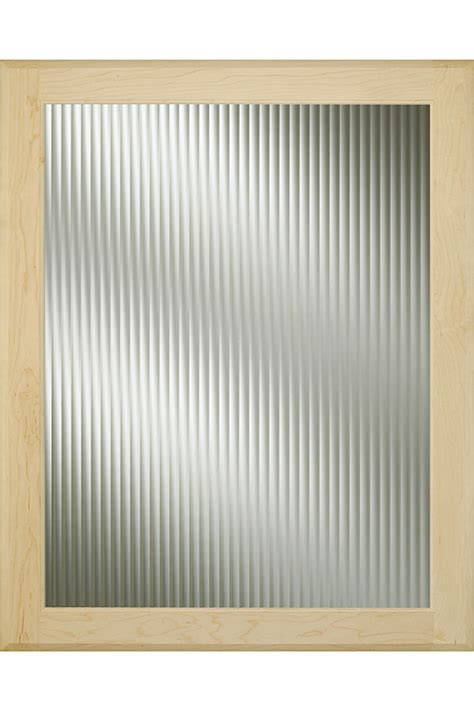 Reeded Cabinet Glass Decora Cabinetry Reeded Glass Door