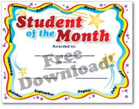 teacher of the year certificate template education world