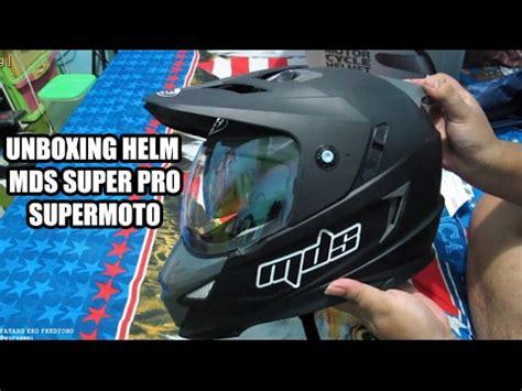 Helm Mds Superpro unboxing helm mds superpro supermoto