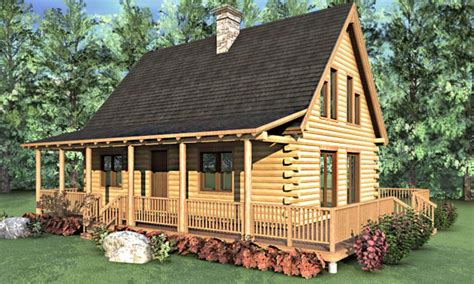 2 bedroom log home plans