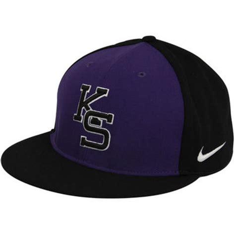 nike kansas state wildcats purple black authentic baseball