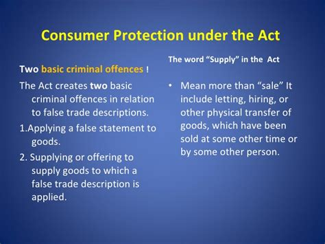 section 14 of consumer protection act trade description act consumer awareness in kenya