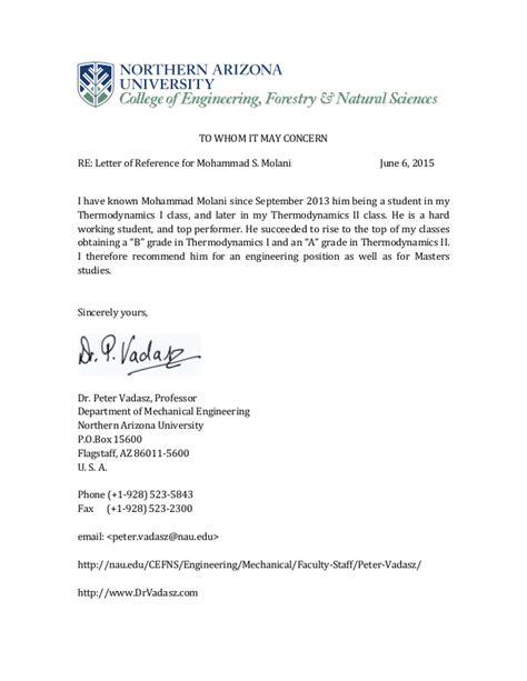 Reference Letter Assistant Professor dr vadasz professor recommendation letter