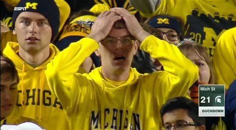 Shocked In The Stands U Of M Fan Identified Fox17