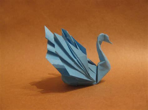 Origami Paper Swan - 3d origami swan 2016
