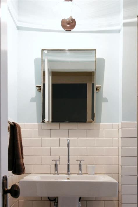 Hgtv Bathroom Designs bathroom with subway tile wainscoting home design