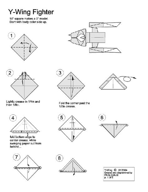 How To Make An Origami Wars - best 25 wars origami ideas on x wing